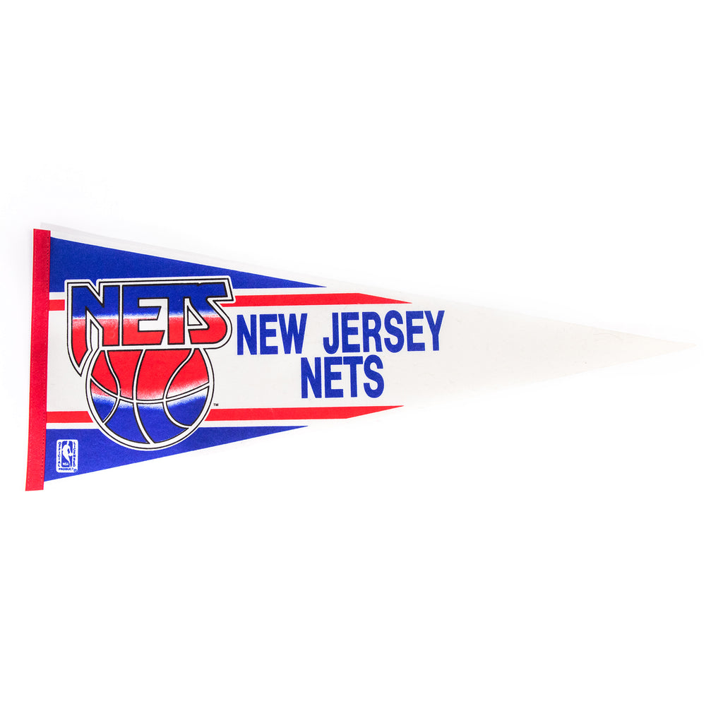 "Montage Vintage - ""Jersey Strong"" Nets Pennant"
