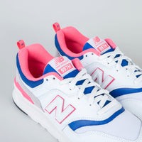 New Balance - 997H White/Laser Blue