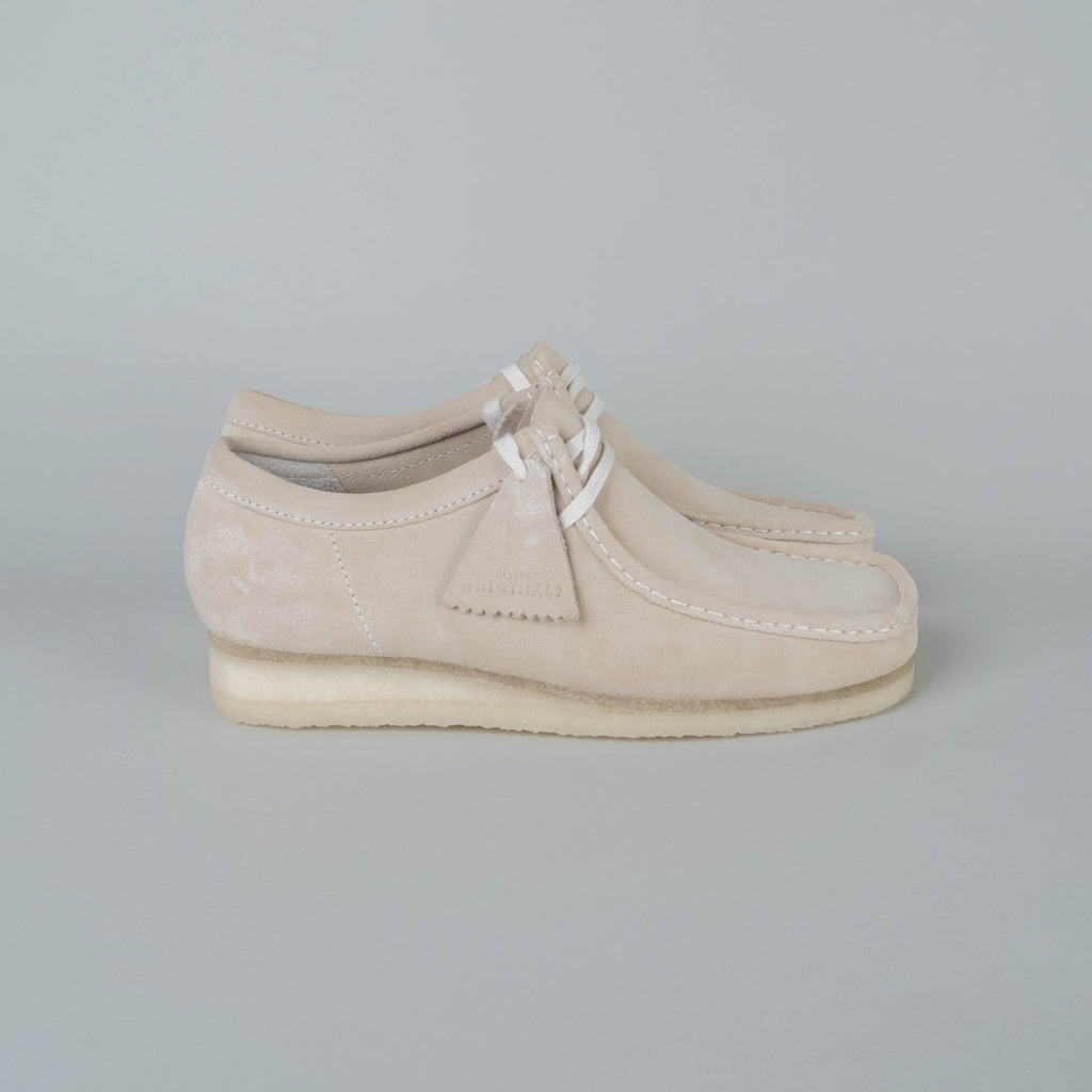 Clarks - Wallabee Off White
