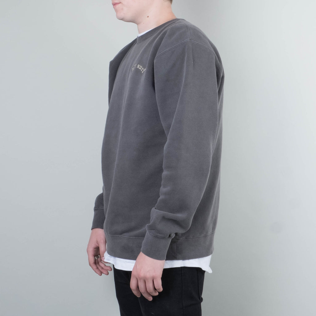Univ - Not Surf Crewneck Washed Black