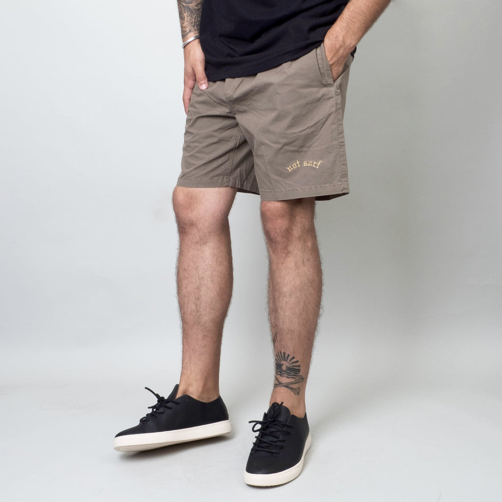 Univ - Not Surf Boardie Olive