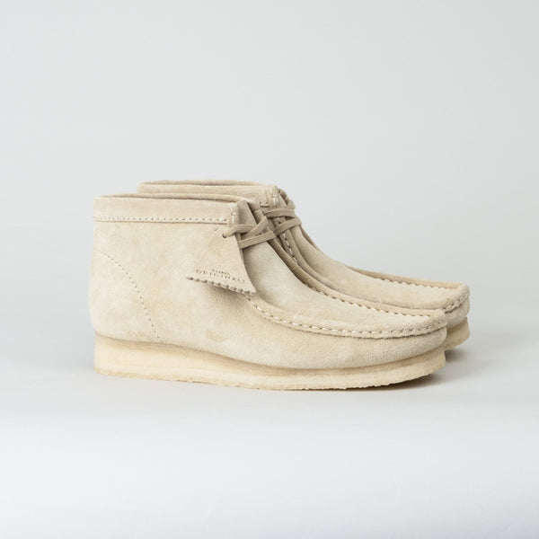 Clarks - Wallabee Boot Maple Suede