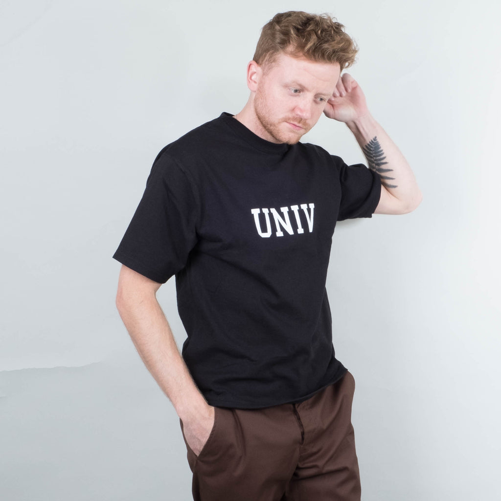 Univ x Champion - Collegiate Heavyweight Tee Black