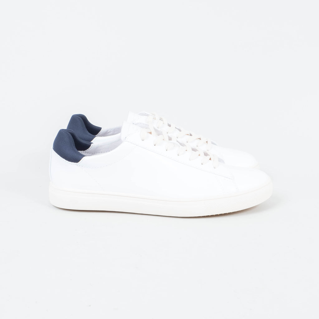 Clae - Bradley White Leather
