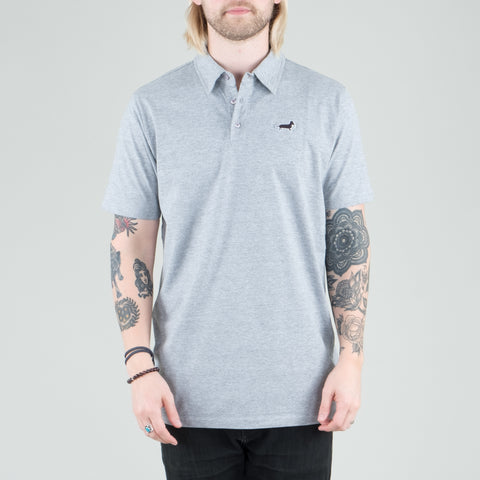 Univ - Dachshund Polo Heather Grey