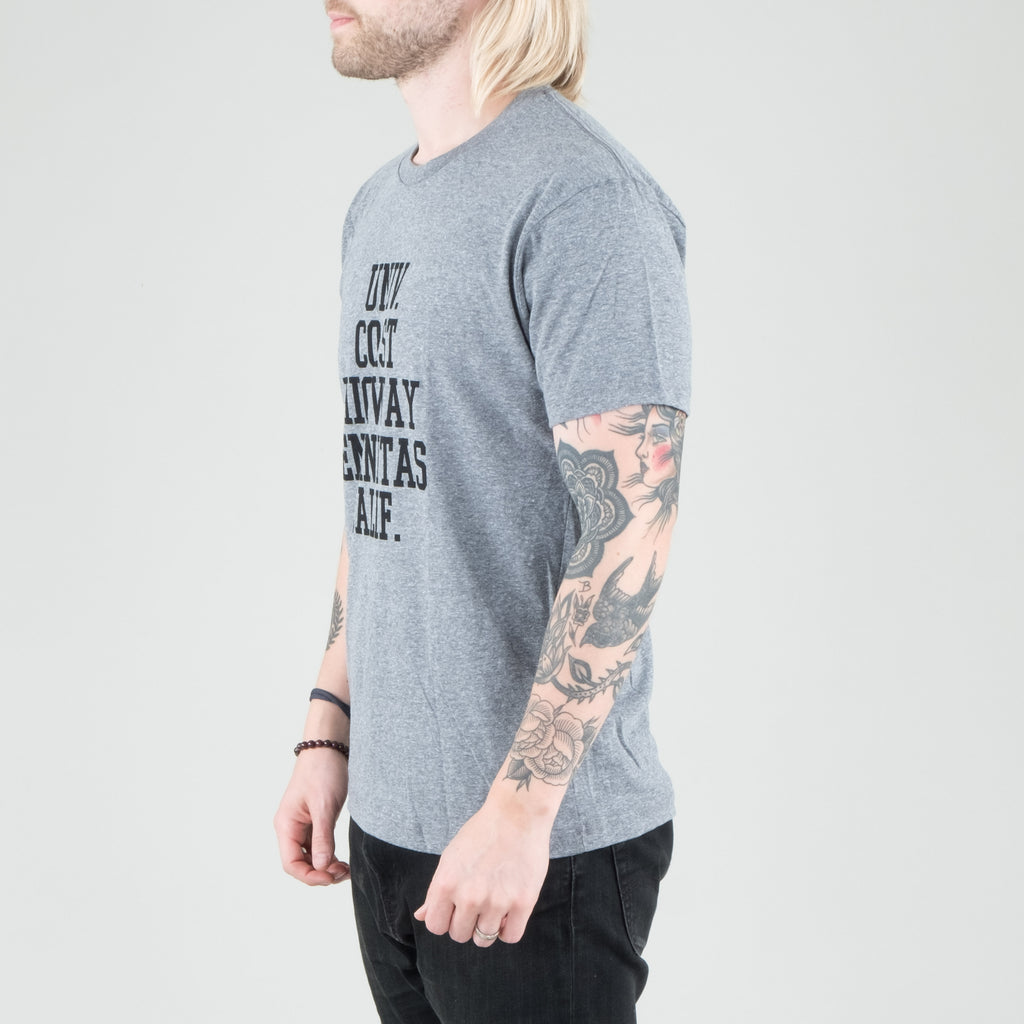 Univ - Spot Tee Heather Grey