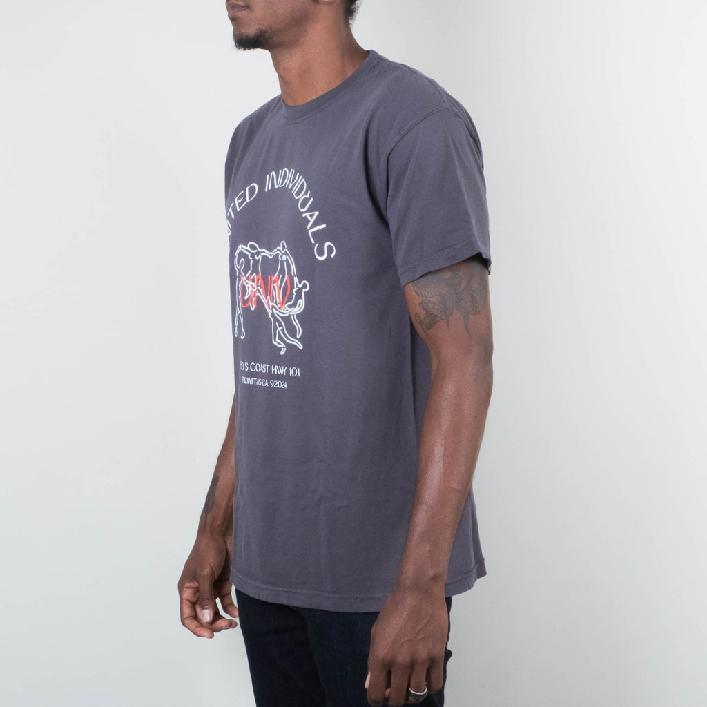 Univ - United Individuals Tee Black