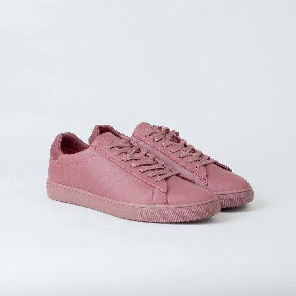 Clae - Bradley Merlot Full Grain Tumbled Leather
