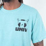 Univ - Headphones Tee Seafoam Green