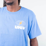Univ - Globe Tee Powder Blue