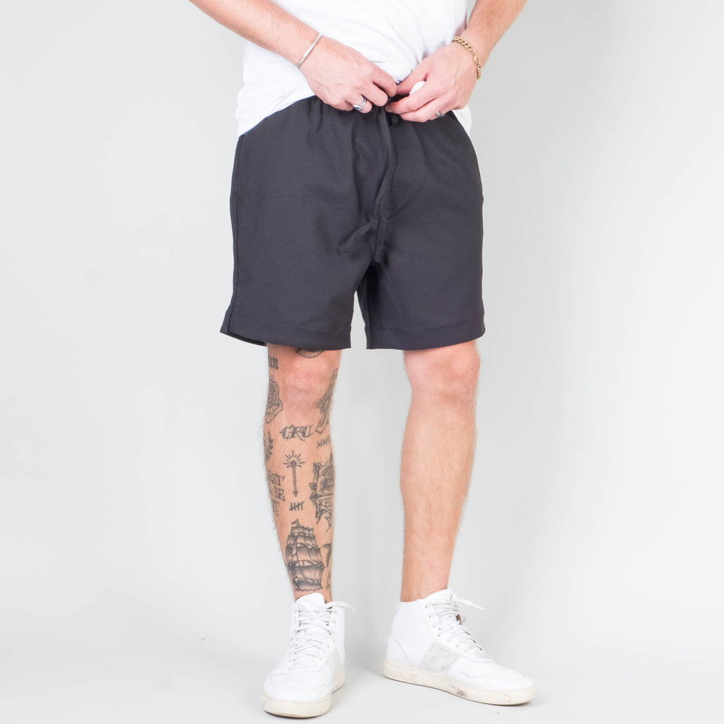 Univ - Stretch Twill Short Black