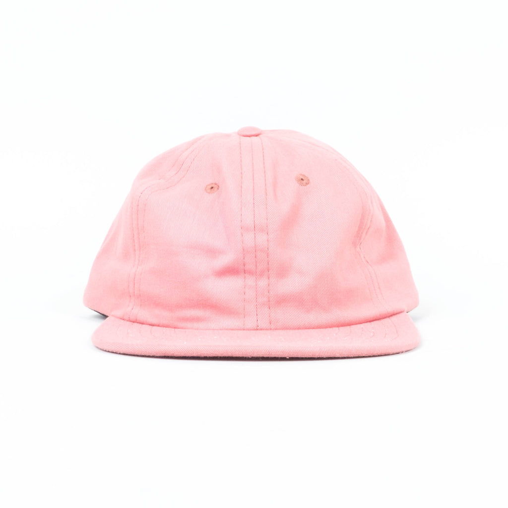 Palm High - Blush Brushed Twill Unstructured 6-Panel