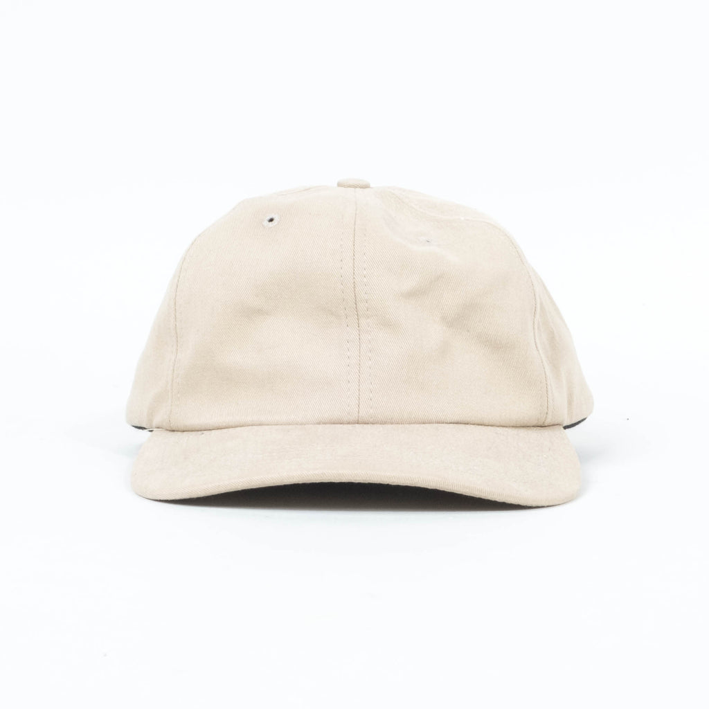 Palm High -  Khaki Unstructured 6 Panel Cap