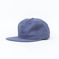 Palm High -  Navy Twill Unstructured 6 Panel Cap