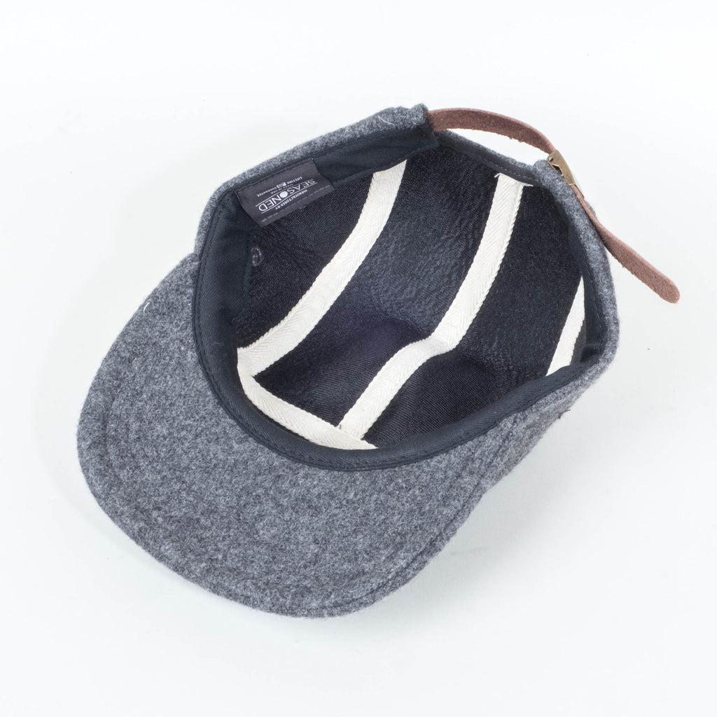 Palm High -  Wool Unstructured 5 Panel Cap