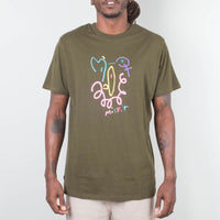 MISFIT - Hero Smile Tee Rifle Green