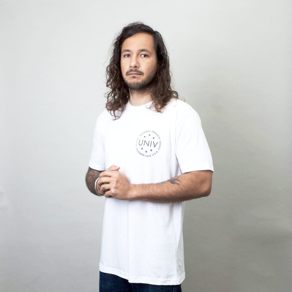 Univ - Authentic Tee White