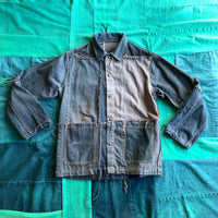 Montage Vintage - Patchwork Denim Chore Jacket Charcoal 3/3