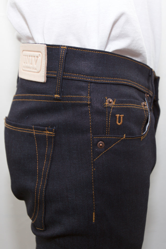 WHITMAN DENIM RAW INDIGO STRETCH