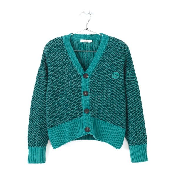 MÉLANGE KNITTED CARDIGAN