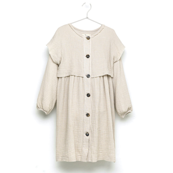 LAYERED SHIRT DRESS