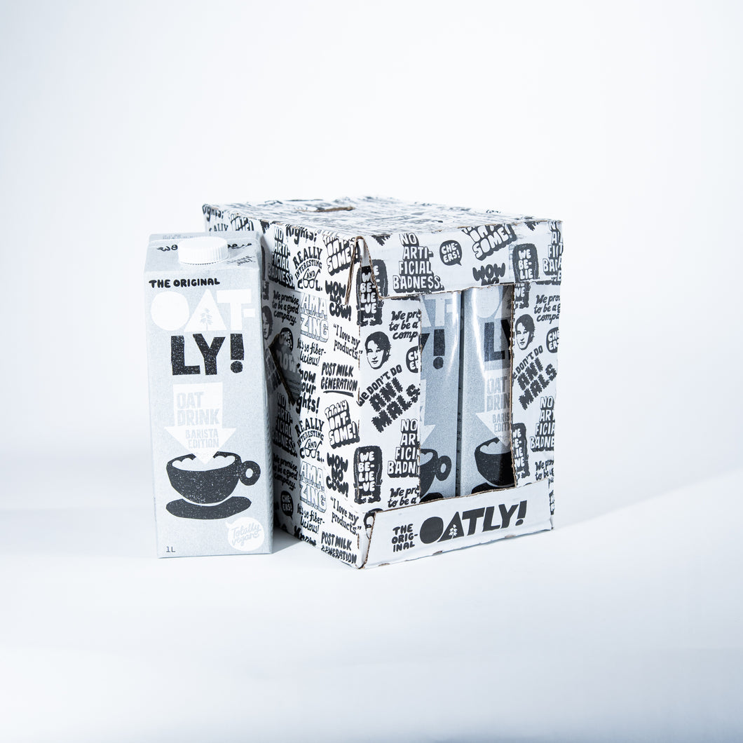 Oatly: Barista ltr  (Click and collect or delivery Friday 11th Dec)