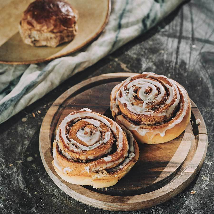 Cinnamon Buns (click and collect  every Friday)