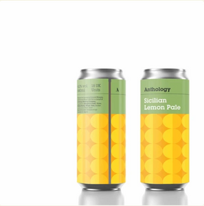 Anthology Brewery Co. - Sicilian Lemon Pale 4.2% (Leeds delivery only)