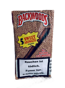 Backwoods - Sweet Aromatic (5 Cigars)