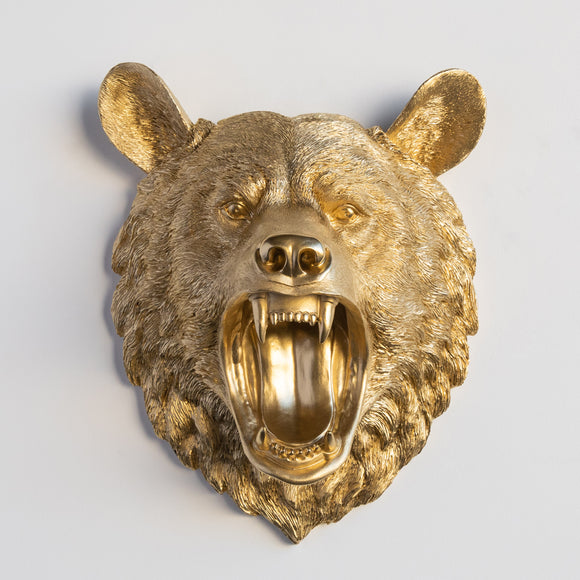 The Roaring Lodge Bear // Gold