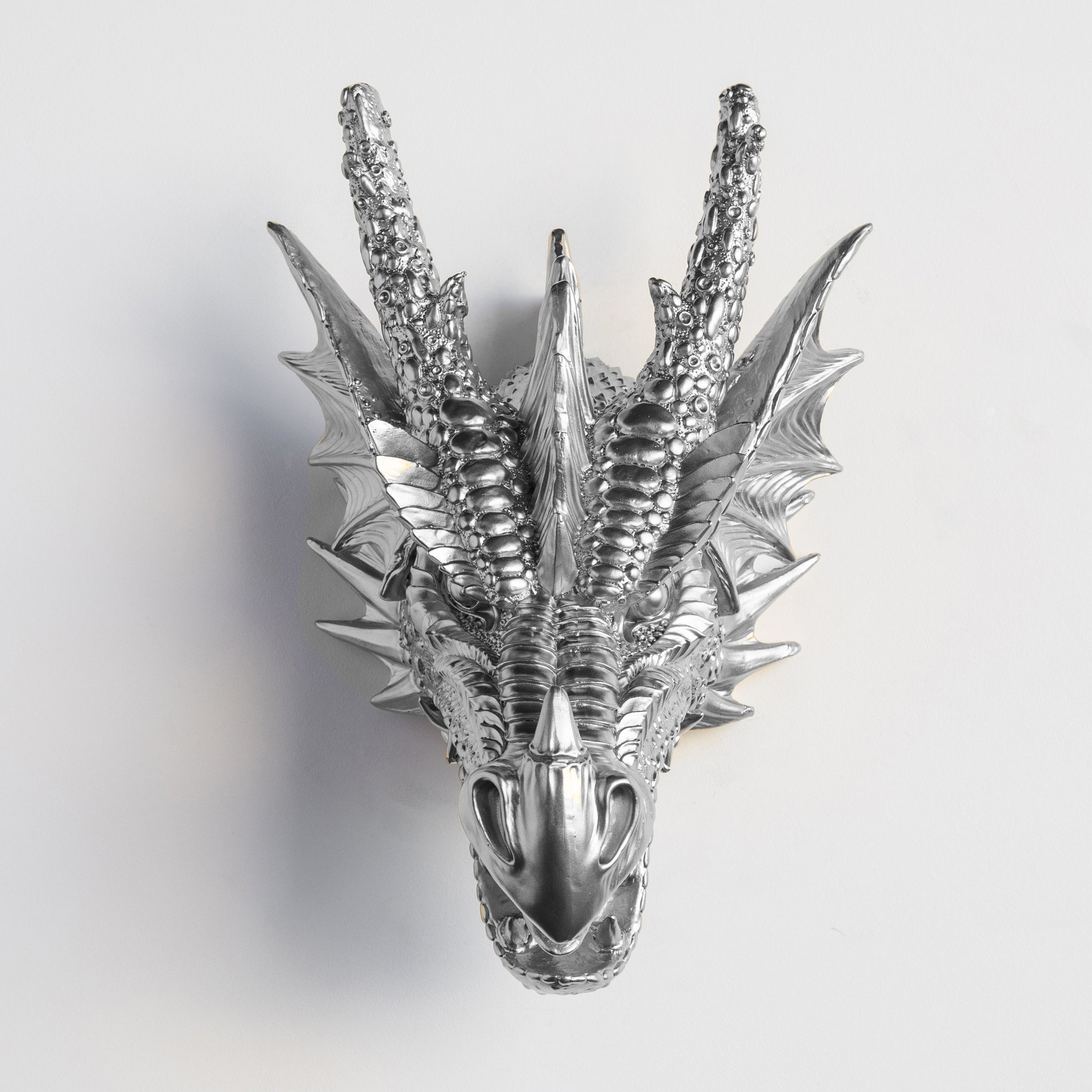 Faux Dragon Head // Chrome