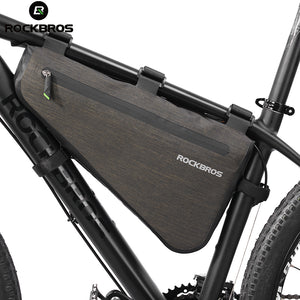 Frame Bicycle Bag Large Capacity