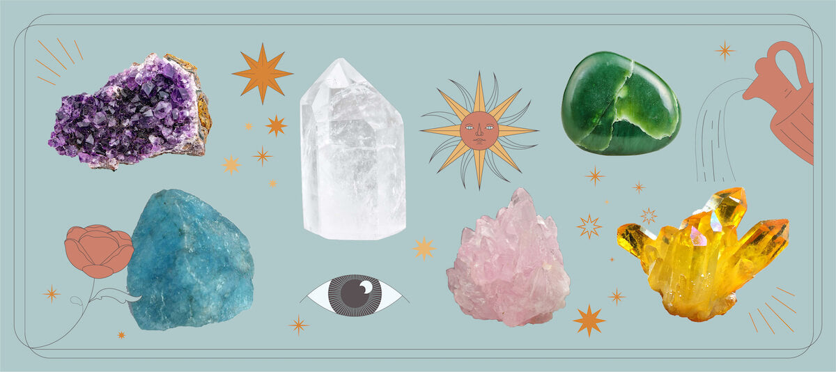 The Beginner's Guide To Healing Crystals