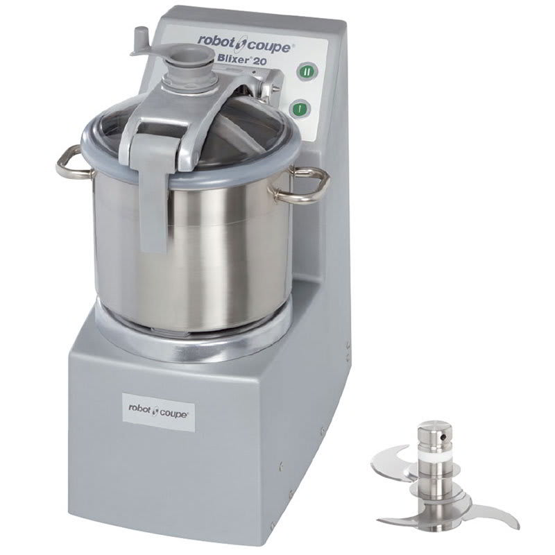 Robot Coupe BLIXER20 Vertical Commercial Blender Mixer w/ 20 qt Capacity & 2 Speeds