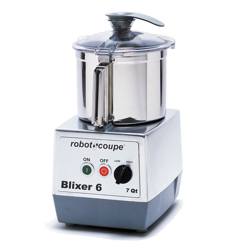Robot Coupe BLIXER6 Vertical Commercial Blender Mixer w/ 7 qt Capacity & 2 Speeds
