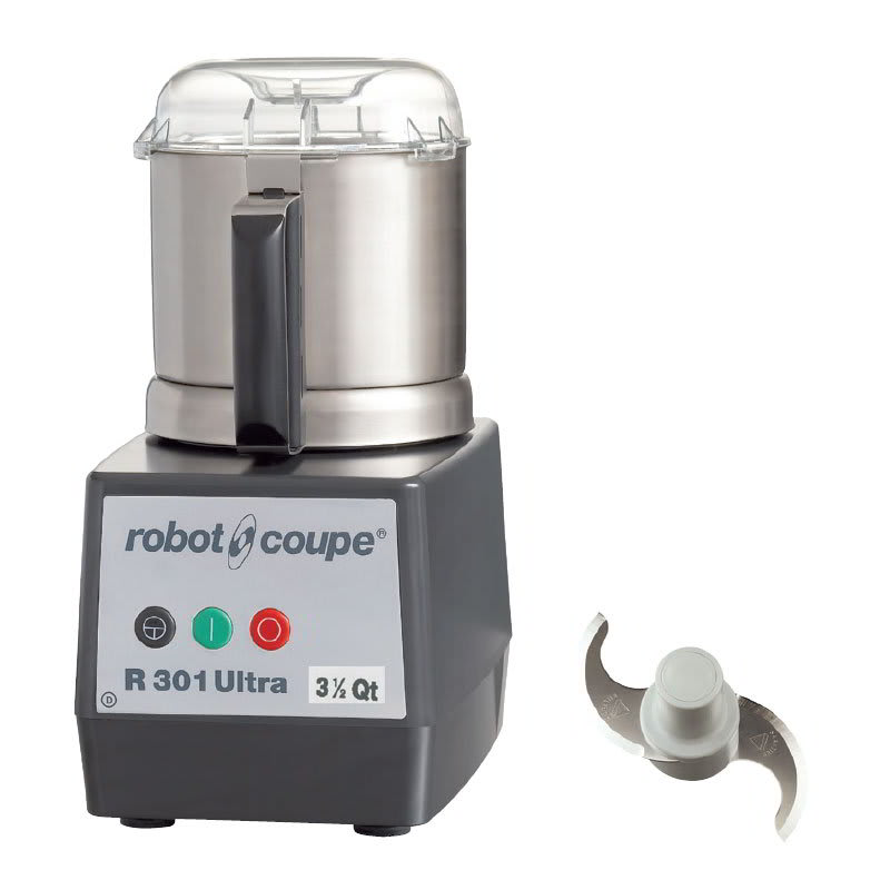 Robot Coupe R301ULTRAB 1 Speed Cutter Mixer Food Processor w/ 3 1/2 qt Bowl, 120v
