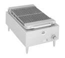 "Wells B-44 20"" Stainless Steel Electric Charbroiler with One Control Knob"
