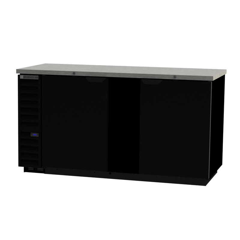 Beverage Air Back Bar Refrigerated Cabinet - BB68HC-1-B