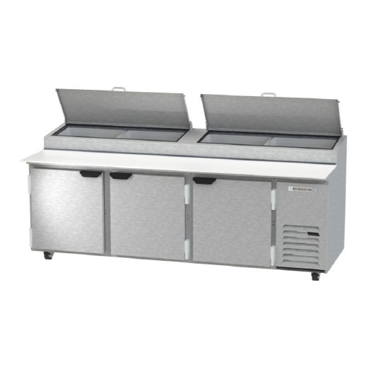 Beverage Air Pizza Prep Table, Refrigerated Counter - DP93HC