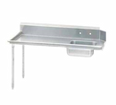 Advance Tabco Dishtable Straight-Soiled - DTS-S60-36L-X