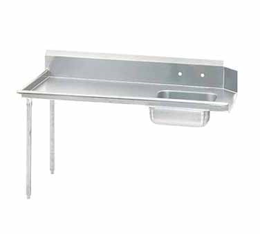 Advance Tabco Dishtable Straight-Soil - DTS-S60-60L-X