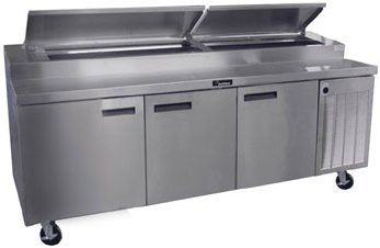 Delfield Refrigerated Counter Pizza Prep Table - 18699PTBMP