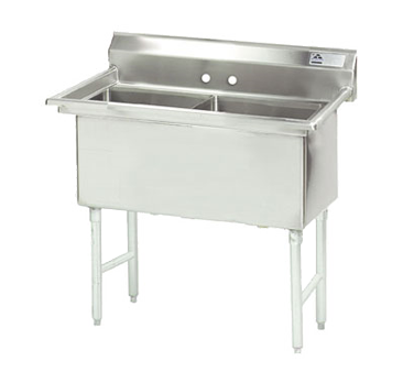 Advance Tabco Two Compartment Sink - FC-2-1818
