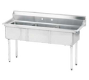 Advance Tabco Three Compartment Sink - FE-3-1812-X