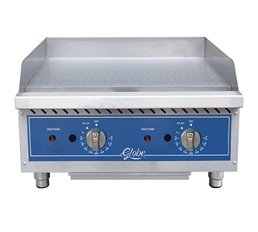 Globe Gas Countertop Griddle - GG24TG