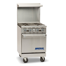 "Imperial Range ""24"" 4 Open Burners - IR-4"