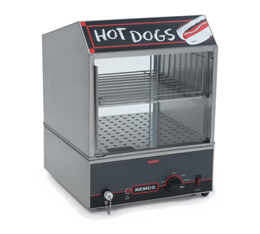 Nemco 8300 - Counter-top Hot Dog Steamer