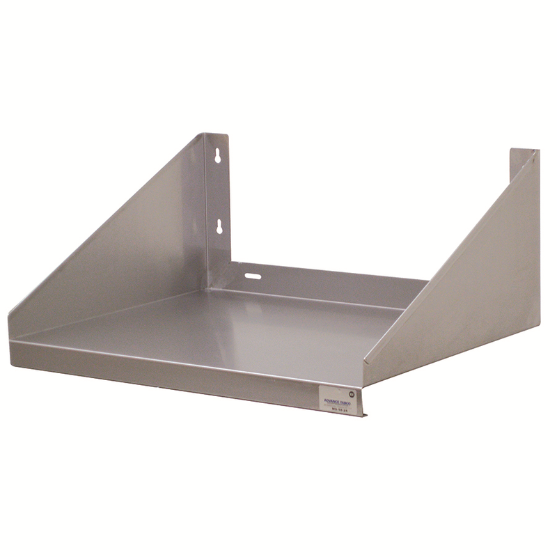 Advance Tabco Microwave Oven Shelf - MS-24-24-EC-X