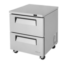 Turbo Air Super Deluxe 2 Drawer Undercounter Freezer - TUF-28SD-D2-N