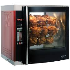 Alto-Shaam AR-7E-DBLPANE Electric 7 Spit Commercial Rotisserie